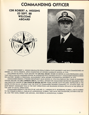 Page 7, 1988 Edition, Elmer Montgomery (FF 1082) - Naval Cruise Book online yearbook collection
