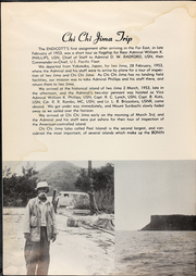 Page 8, 1953 Edition, Endicott (DMS 35) - Naval Cruise Book online yearbook collection