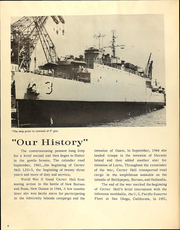 Page 8, 1966 Edition, Carter Hall (LSD 3) - Naval Cruise Book online yearbook collection
