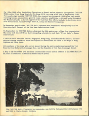 Page 13, 1968 Edition, Carter Hall (LSD 3) - Naval Cruise Book online yearbook collection