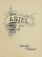 Page 3, 1894 Edition, University of Vermont - Ariel Yearbook (Burlington, VT) online yearbook collection