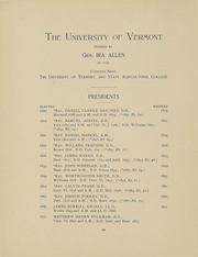 Page 13, 1896 Edition, University of Vermont - Ariel Yearbook (Burlington, VT) online yearbook collection