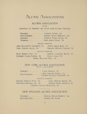 Page 15, 1896 Edition, University of Vermont - Ariel Yearbook (Burlington, VT) online yearbook collection