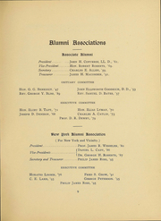 Page 11, 1901 Edition, University of Vermont - Ariel Yearbook (Burlington, VT) online yearbook collection