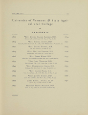 Page 12, 1903 Edition, University of Vermont - Ariel Yearbook (Burlington, VT) online yearbook collection