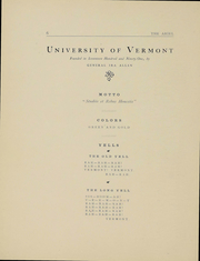 Page 6, 1903 Edition, University of Vermont - Ariel Yearbook (Burlington, VT) online yearbook collection