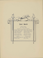 Page 5, 1908 Edition, University of Vermont - Ariel Yearbook (Burlington, VT) online yearbook collection