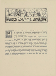 Page 6, 1914 Edition, University of Vermont - Ariel Yearbook (Burlington, VT) online yearbook collection