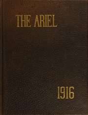 University of Vermont - Ariel Yearbook (Burlington, VT) online yearbook collection, 1916 Edition, Page 1