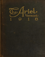 University of Vermont - Ariel Yearbook (Burlington, VT) online yearbook collection, 1918 Edition, Page 1