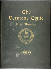 University of Vermont - Ariel Yearbook (Burlington, VT) online yearbook collection, 1919 Edition, Page 1