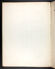 Page 6, 1919 Edition, University of Vermont - Ariel Yearbook (Burlington, VT) online yearbook collection