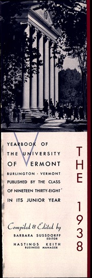 Page 5, 1938 Edition, University of Vermont - Ariel Yearbook (Burlington, VT) online yearbook collection