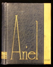 1939 Edition, University of Vermont - Ariel Yearbook (Burlington, VT)