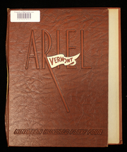 Page 1, 1944 Edition, University of Vermont - Ariel Yearbook (Burlington, VT) online yearbook collection
