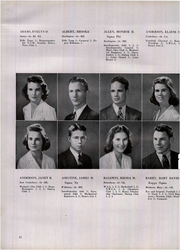 Page 16, 1944 Edition, University of Vermont - Ariel Yearbook (Burlington, VT) online yearbook collection