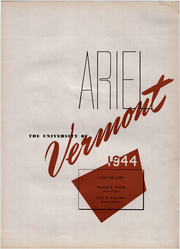 Page 5, 1944 Edition, University of Vermont - Ariel Yearbook (Burlington, VT) online yearbook collection