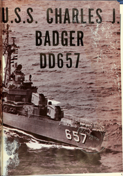 Page 5, 1954 Edition, Charles J Badger (DD 657) - Naval Cruise Book online yearbook collection