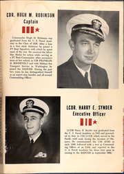 Page 7, 1954 Edition, Charles J Badger (DD 657) - Naval Cruise Book online yearbook collection