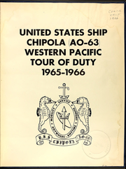 Page 5, 1966 Edition, Chipola (AO 63) - Naval Cruise Book online yearbook collection