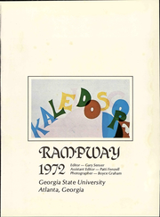 Page 7, 1972 Edition, Georgia State University - Rampway Yearbook (Atlanta, GA) online yearbook collection