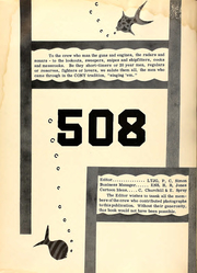 Page 6, 1954 Edition, Cony (DDE 508) - Naval Cruise Book online yearbook collection