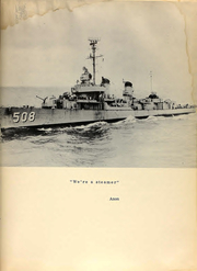 Page 7, 1954 Edition, Cony (DDE 508) - Naval Cruise Book online yearbook collection