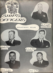 Page 9, 1954 Edition, Cony (DDE 508) - Naval Cruise Book online yearbook collection