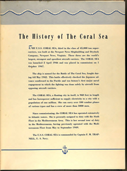 Page 13, 1951 Edition, Coral Sea (CVB 43) - Naval Cruise Book online yearbook collection
