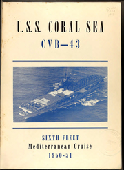 Page 5, 1951 Edition, Coral Sea (CVB 43) - Naval Cruise Book online yearbook collection