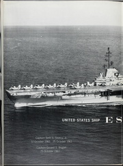 Page 12, 1962 Edition, Essex (CVS 9) - Naval Cruise Book online yearbook collection