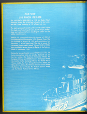 Page 2, 1966 Edition, Finch (DER 328) - Naval Cruise Book online yearbook collection