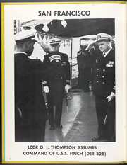 Page 8, 1966 Edition, Finch (DER 328) - Naval Cruise Book online yearbook collection
