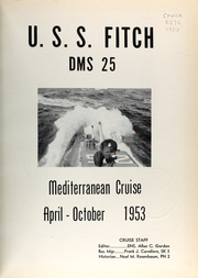 Page 5, 1953 Edition, Fitch (DMS 25) - Naval Cruise Book online yearbook collection