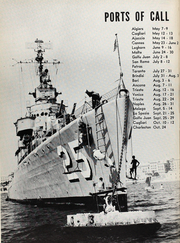 Page 6, 1953 Edition, Fitch (DMS 25) - Naval Cruise Book online yearbook collection