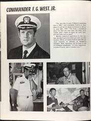 Page 10, 1980 Edition, Forrest Sherman (DD 931) - Naval Cruise Book online yearbook collection
