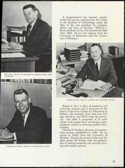 Page 19, 1966 Edition, University of Iowa - Hawkeye Yearbook (Iowa City, IA) online yearbook collection