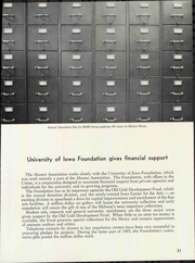 Page 25, 1966 Edition, University of Iowa - Hawkeye Yearbook (Iowa City, IA) online yearbook collection