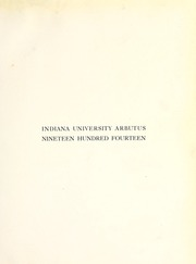 Page 5, 1914 Edition, Indiana University - Arbutus Yearbook (Bloomington, IN) online yearbook collection