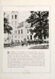 Page 17, 1918 Edition, Indiana University - Arbutus Yearbook (Bloomington, IN) online yearbook collection