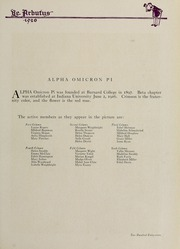 Page 265, 1920 Edition, Indiana University - Arbutus Yearbook (Bloomington, IN) online yearbook collection