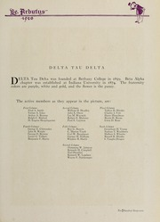 Page 289, 1920 Edition, Indiana University - Arbutus Yearbook (Bloomington, IN) online yearbook collection