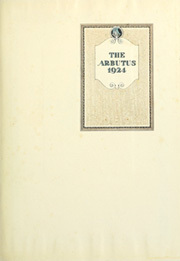 Page 7, 1924 Edition, Indiana University - Arbutus Yearbook (Bloomington, IN) online yearbook collection