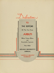 Page 10, 1934 Edition, Indiana University - Arbutus Yearbook (Bloomington, IN) online yearbook collection