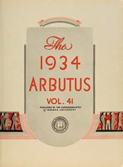 Page 9, 1934 Edition, Indiana University - Arbutus Yearbook (Bloomington, IN) online yearbook collection
