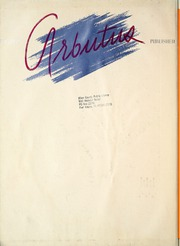 Page 8, 1939 Edition, Indiana University - Arbutus Yearbook (Bloomington, IN) online yearbook collection