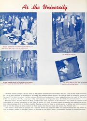 Page 16, 1942 Edition, Indiana University - Arbutus Yearbook (Bloomington, IN) online yearbook collection