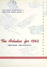 Page 5, 1942 Edition, Indiana University - Arbutus Yearbook (Bloomington, IN) online yearbook collection
