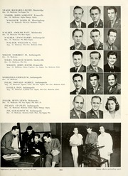 Page 307, 1945 Edition, Indiana University - Arbutus Yearbook (Bloomington, IN) online yearbook collection