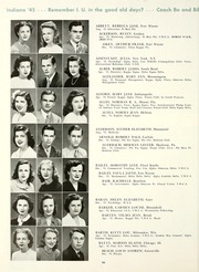 Page 70, 1945 Edition, Indiana University - Arbutus Yearbook (Bloomington, IN) online yearbook collection